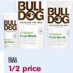 50% Off Selected Bulldog Men's Grooming Products At Boots - Gratisfaction UK Flash Bargains #bulldog   #facewash   #rollon   #facescrub   #moisturizer   #moisturiser