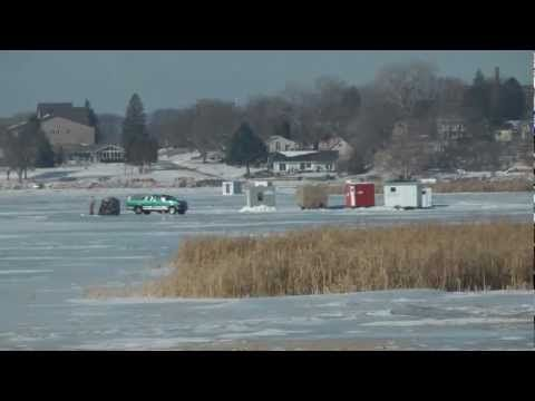 Clear Lake Iowa, Ice Fishing houses. Angling for Free Fishing Videos? Here is a video on Fishing Tips and Tricks, I do video on many species such as Catfish, Walleye, Muskie, Northern, Panfish, Salmon to include most freshwater and some saltwater fish. Information good from  Fishing Pro to Novice angler will like this instruction where you can D...
