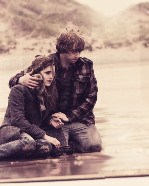Ron and Hermione: just an ordinary boy in love with an incredibly intelligent girl