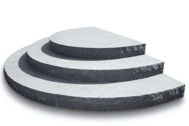 Utemiljøgrossisten as Trapp Granitt Element