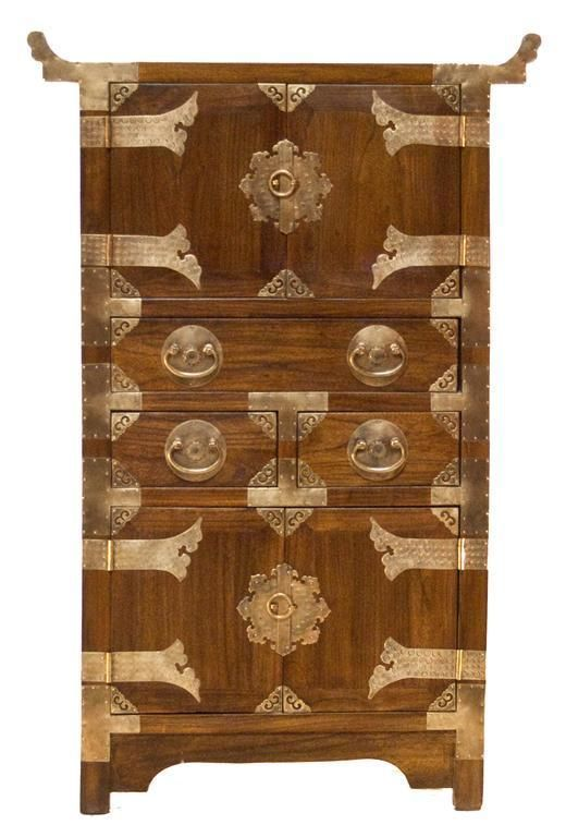Chinese elegant hardware cabinet chinese furniture for Oriental cupboard