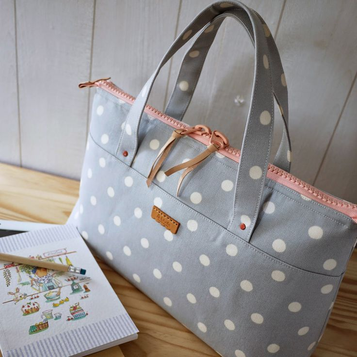 artchala handmade: HandCarry Bag : Simple Dots
