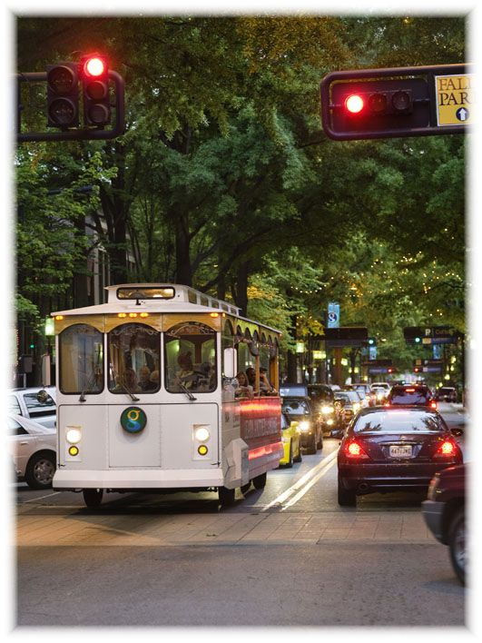 take a trolley ride down main st on weekend evenings our rh pinterest com