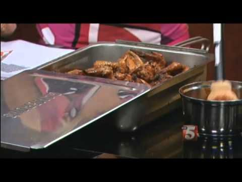 Camerons Stovetop Smoker - Smoked Chicken Wings by Tony Neely