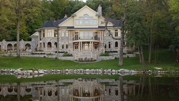 These over-the-top homes are the stuff of modern fairy tales.