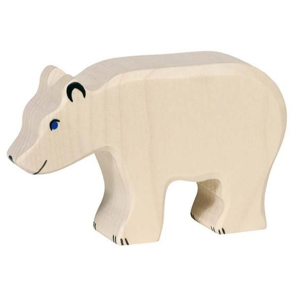 Holztiger Polar Bear Large (80207)