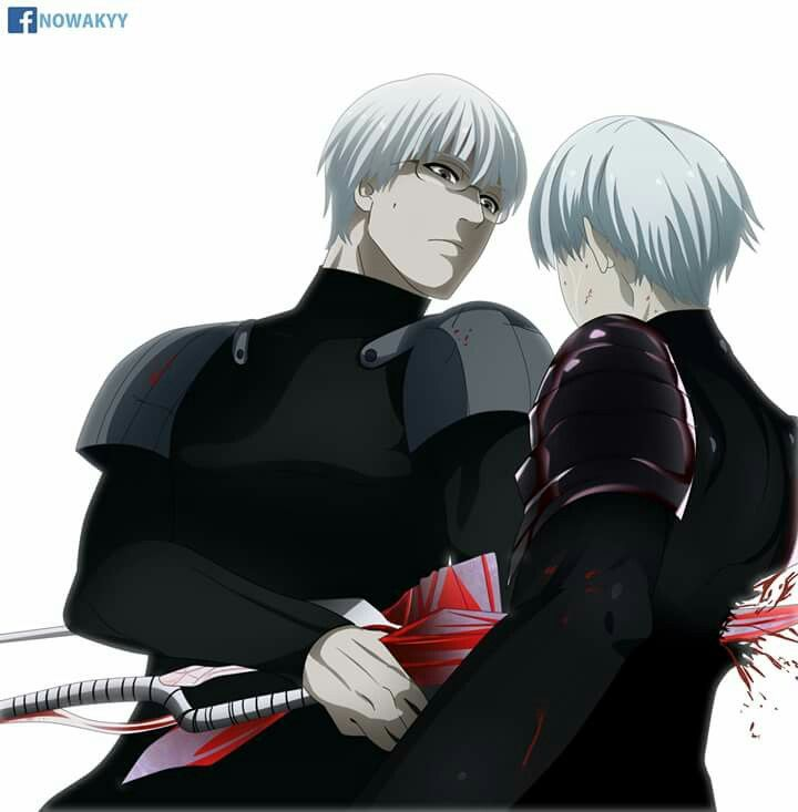 Kaneki vs Arima battle 2 TG :re