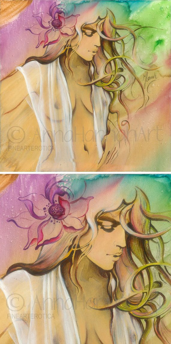 """""""Born from a Rainbow"""" - original painting"""