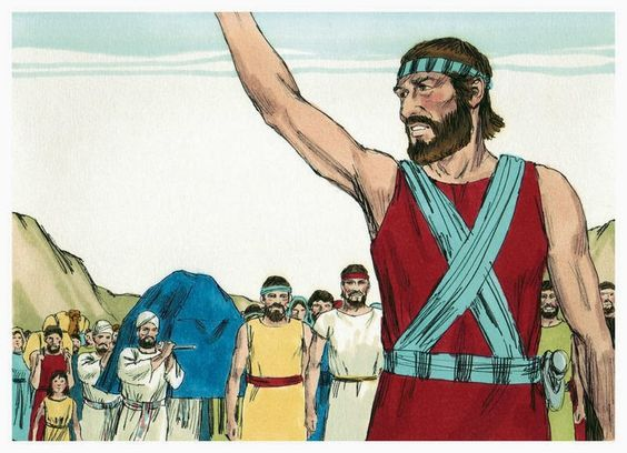 Joshua in the Bible - Joshua Fought the Battle of Jericho ~ FREE Sunday School Lessons