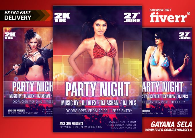 create Flyer within 12 hr by gayanasela