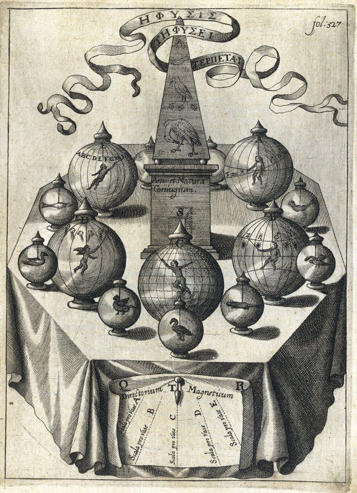 Alchemy: Athanasius Kircher - (Chetham's Library, Manchester). An Alchemy artwork.