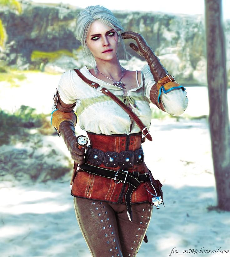 Ciri by Gray-Fox200