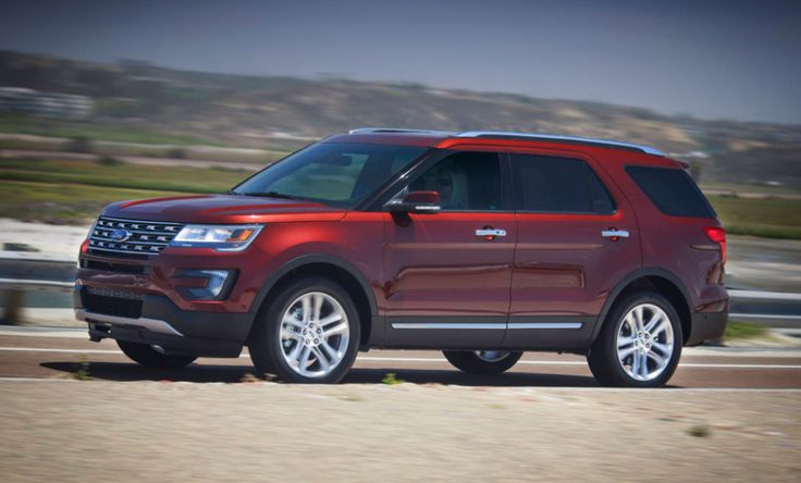 2016 Ford Explorer Then again, its 81.7 cubic feet of load space is lower than most contenders, particularly the Chevrolet Traverse and GMC Acadia.
