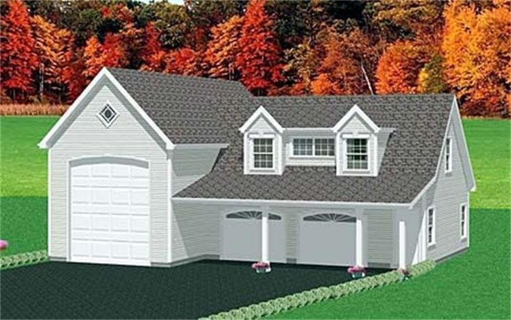 Rv garage with apartments austin for Garage apartment plans rv