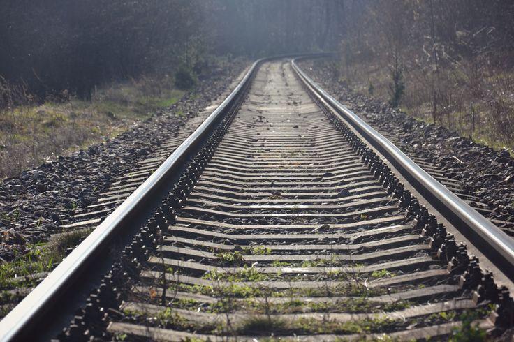 ..Far..Far AwaY.. ..Spring life..  #train #spring
