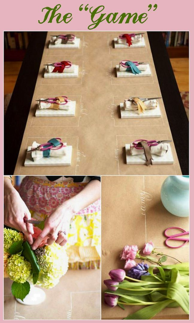 gifts to give for bridal shower games%0A Linen  Lace   u     Love  Bridal Shower Ideas  Part