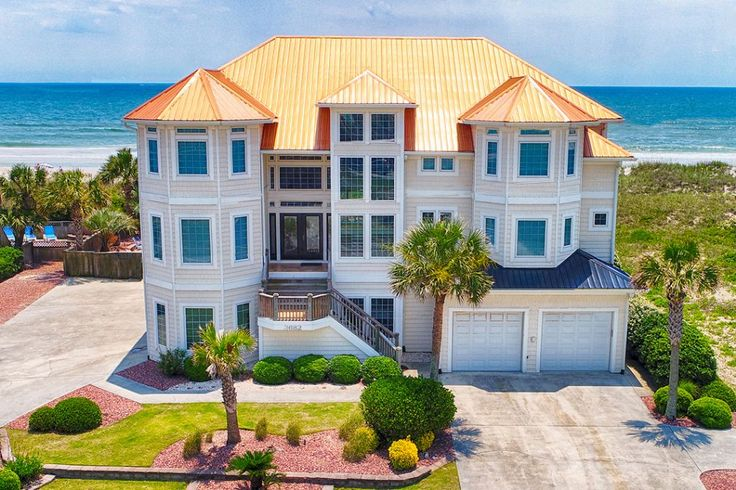 Island Drive 3682   Oceanfront Vacation Rental   North Topsail Beach NC