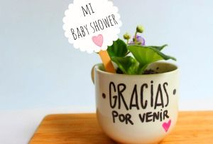 Recuerdo de baby shower ecológico y original | Blog de BabyCenter por @Carolina Llinas