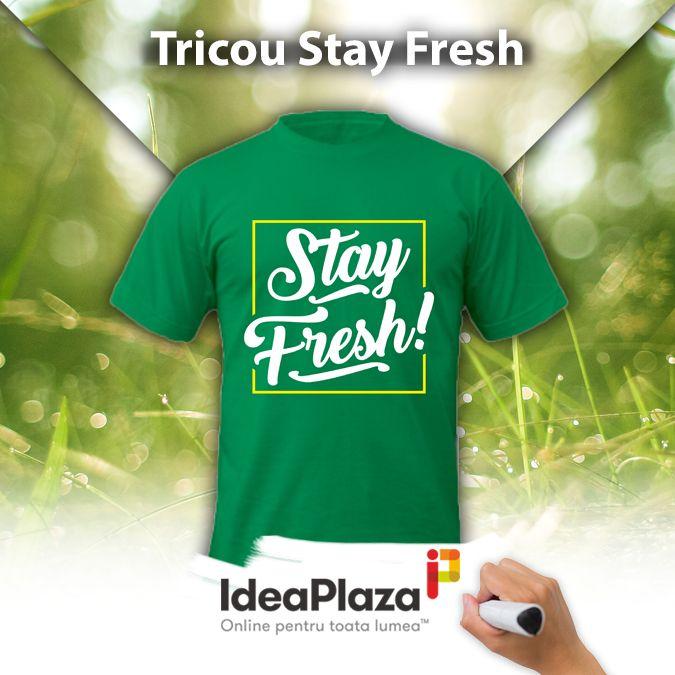 Singurul tricou care te face sa te simti FRESH in permanenta:  #tricou #tricoupersonalizat #tricoufresh #fresh #tricouripersonalizate