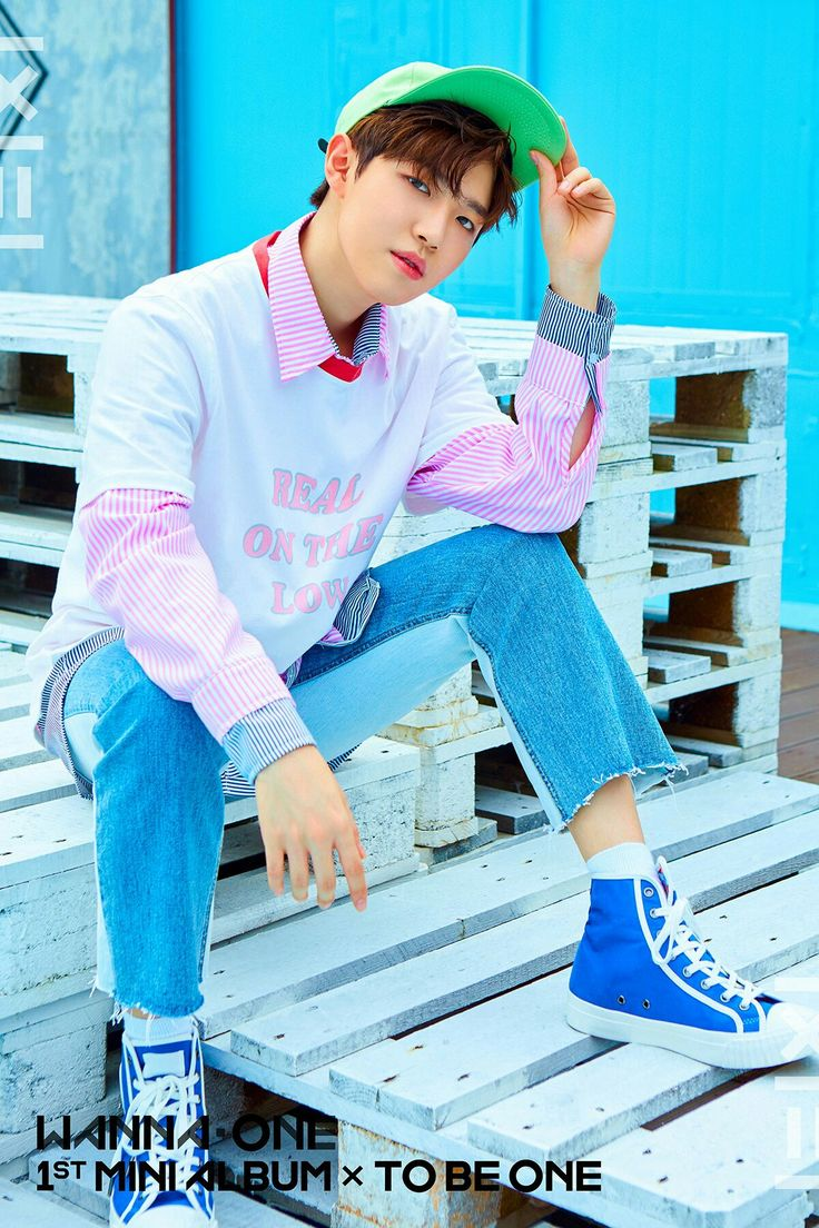 Wanna One 1×1=1 1st Mini Album × To Be One   Kim Jaehwan  Pink ver.