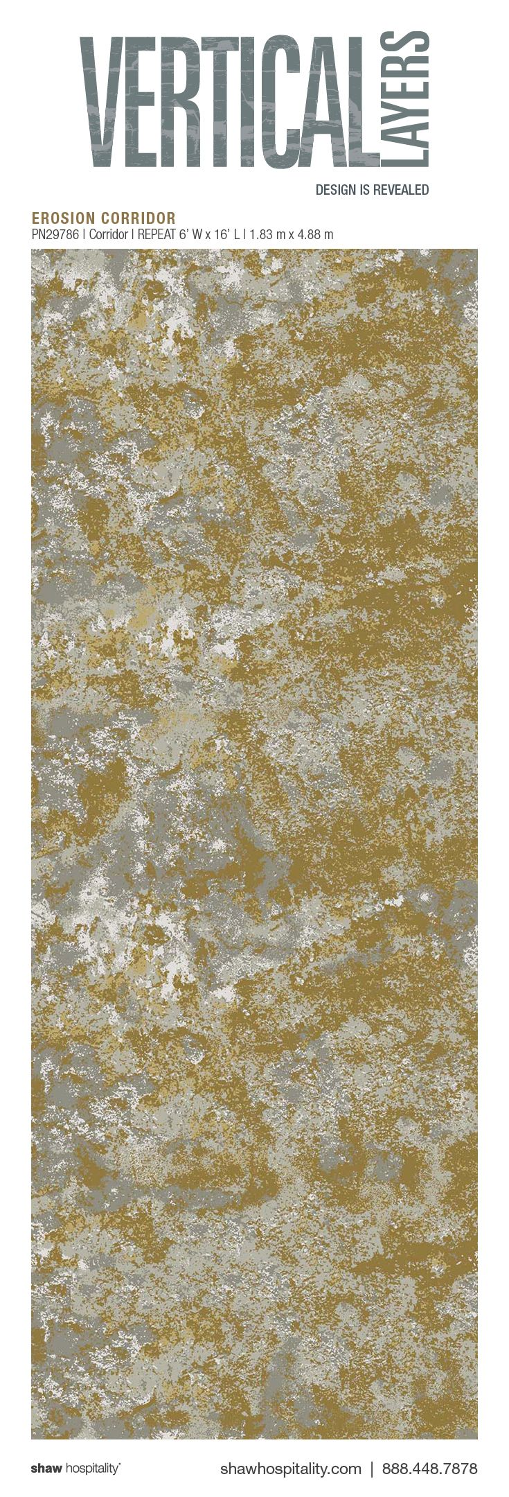 Erosion Corridor PN29786 Hospitality Carpet For