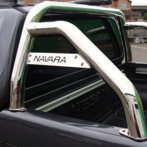 Navara D40 Stainless Steel Roll Bar Nissan Navara D40