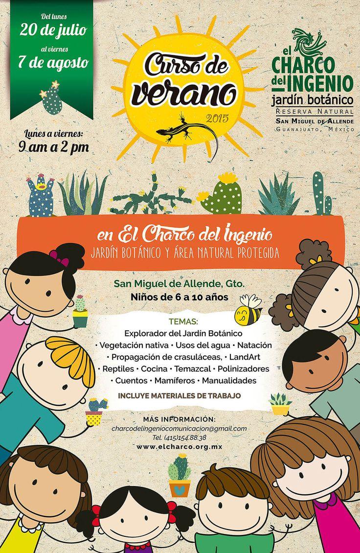#Realidades1-PE Charco del ingenio curso de verano para niños. posters for dates, times, seasons etc.