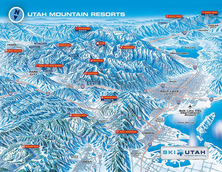 Best Trail Maps Images On Pinterest Trail Maps Ski Utah And - Brighton utah us map