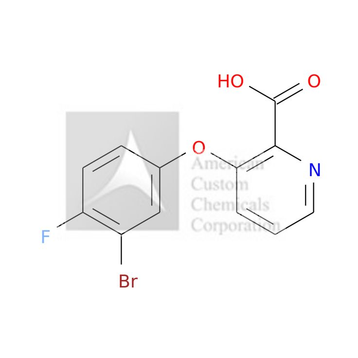 3-(3-BROMO-4-FLUOROPHENOXY)PYRIDINE-2-CARBOXYLIC ACID is now  available at ACC Corporation