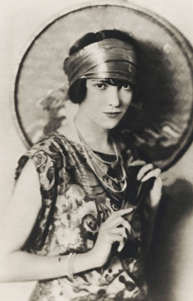 Adele Astaire, Fred Astaire's older sister. Photograph. UK, early 20th century.