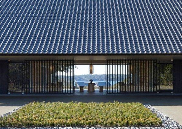 Aman hat sein erstes Thermalresort. An der Ostküste Japans, im Ise Shima-Nationalpark eröffnete das Amanemu.
