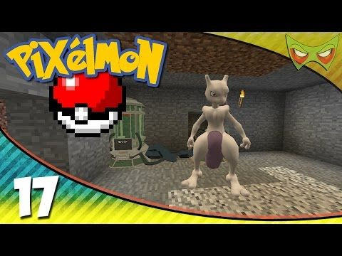 Pixelmon! - Minecraft Pokemon Mod - 17 - Mewtwo! - YouTube
