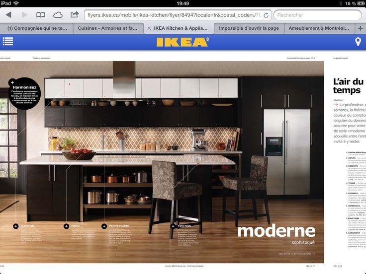Cuisine Ikea Ikea Kitchens Pinterest Kitchens