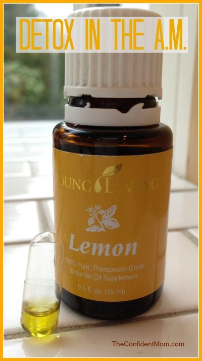 Detox using Young Living Lemon Essential Oil - fast, easy and effective first thing in the morning. I put two drops in a big glass of spring water this morning.