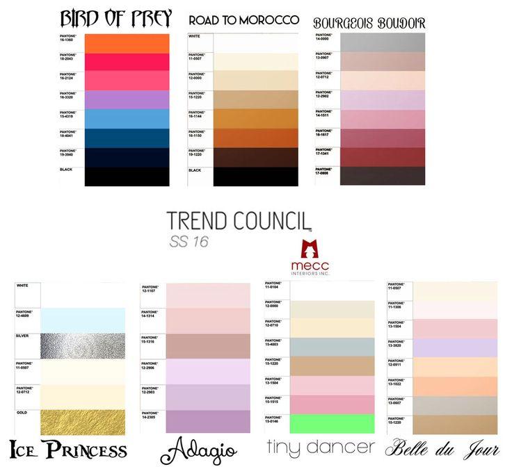 spring / summer 2016 colour inspirations from csi | @meccinteriors | design bites