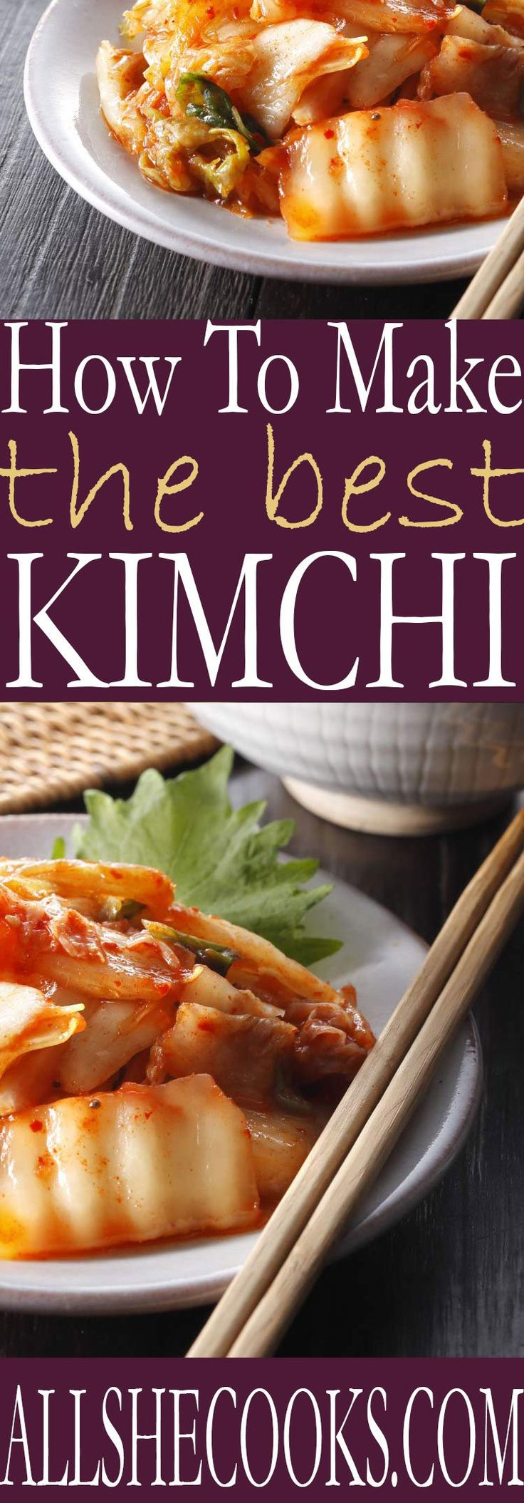 Learn how to make the best kimchi recipe with this easy to follow recipe that is very much a traditional Korean Kimchi Recipe.