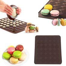 Tovární cena velkoobchodní velikost 26 * 29 cm Macaron silikonové Mat, vánoční…