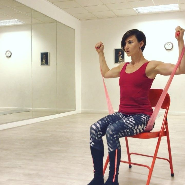"""382 Beğenme, 8 Yorum - Instagram'da Equitness Agi Falenta (@equitness): """"One of my favourite #arms combo which I do very often with my older clients setting on a chair 😉…"""""""