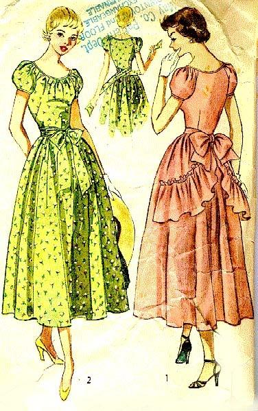Simplicity 2898 (1949): Design