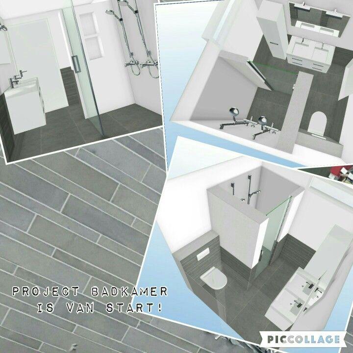 Badkameridee, kleine badkamer met grootse plannen