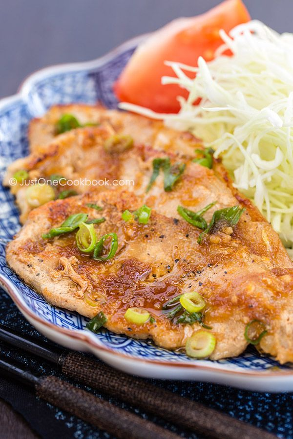 [JAPAN] Ginger Pork (Shogayaki) | Easy Japanese Recipes at JustOneCookbook.com