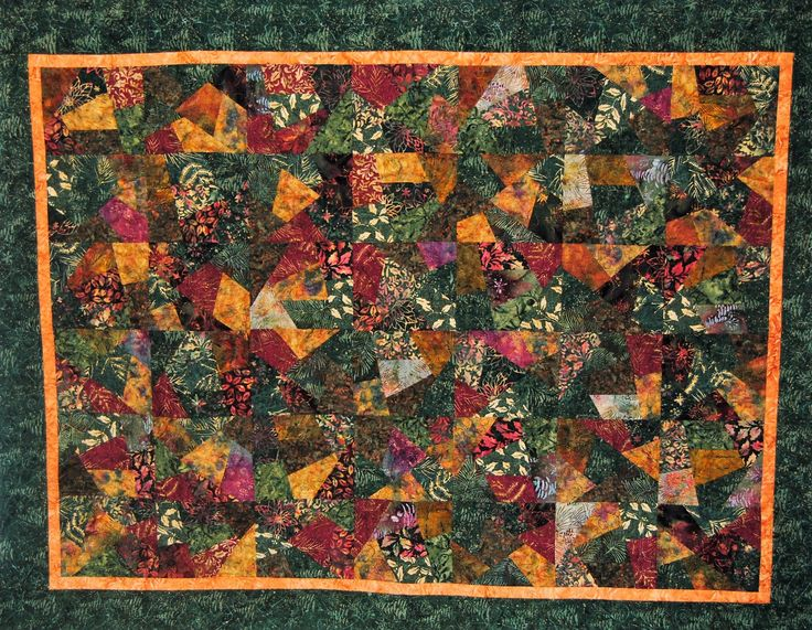 Going Crazy? Short Trip! Quilt