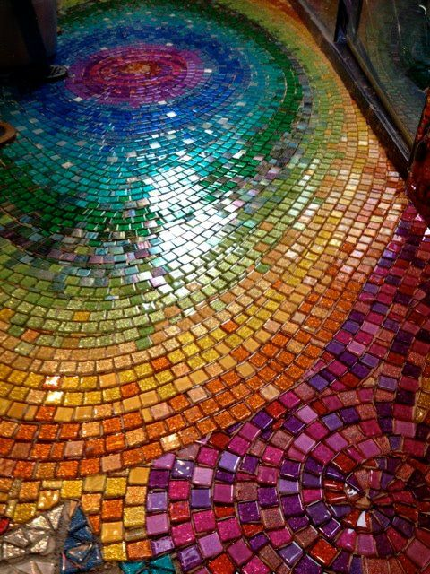 Gorgeous mosaic floor