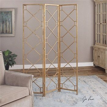 Gold 3 Panel Screen
