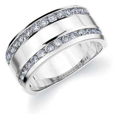 Amore 14k Gold 1ct TDW Diamond Anniversary Wedding Band (H-I, I1-I2)