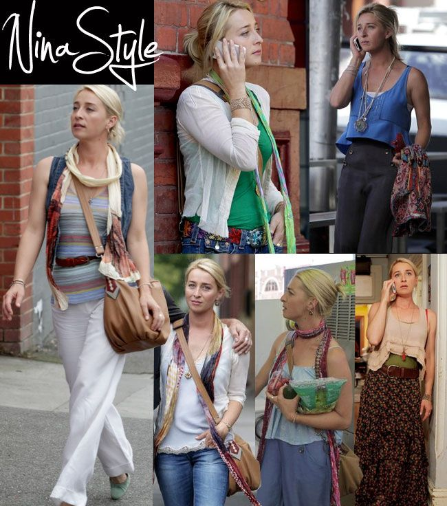 offspring- 'Nina Proudman' has the best wardrobe!