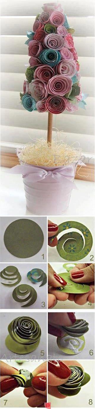 Diy Paper Flower Tree   DIY & Crafts Tutorials