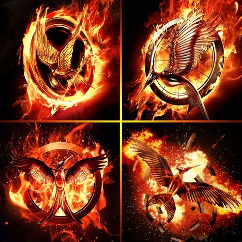 Hunger Games logos | YA | Pinterest | Hunger games series ...