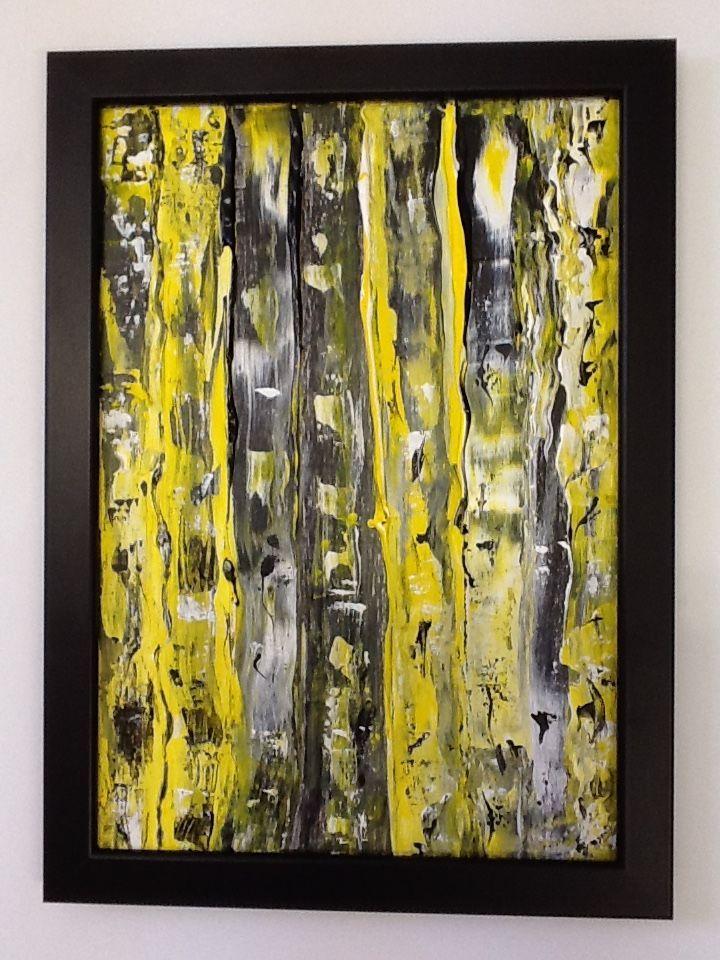 Abstrait 56 Peinture 30x21x0 5 Cm Par Valerie Castets Peinture
