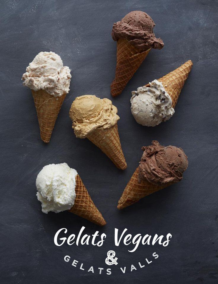 ¿Queréis helados artesanos veganos? ¿Qué os parece un cremoso helado vegano extrafondant de chocolate? y…¿ un delicioso sorbete de mango?